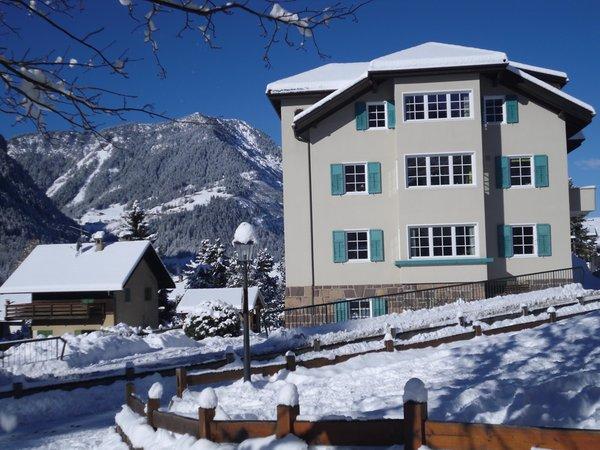 Foto invernale di presentazione Villa Anderlan - Appartamento 2 soli