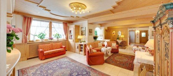 Die Gemeinschaftsräume Hotel Villa Eden