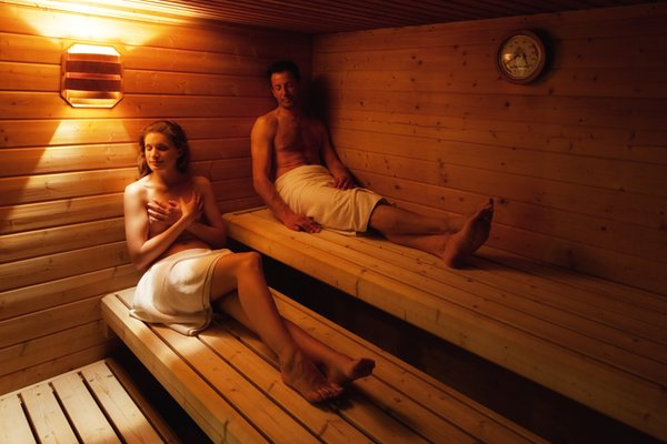 Foto der Sauna Corvara