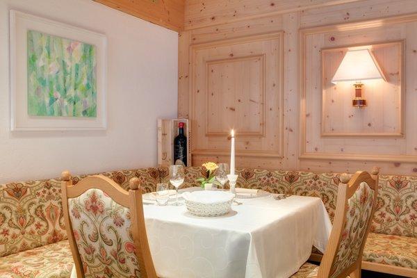Das Restaurant Corvara Villa Eden