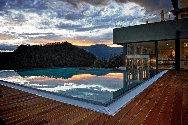 La piscina Alpenflora - Hotel 4 stelle
