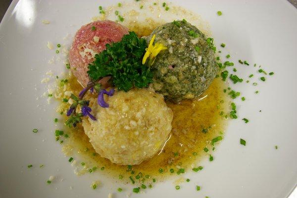 Recipes and gourmet-dishes Castel Oswald von Wolkenstein