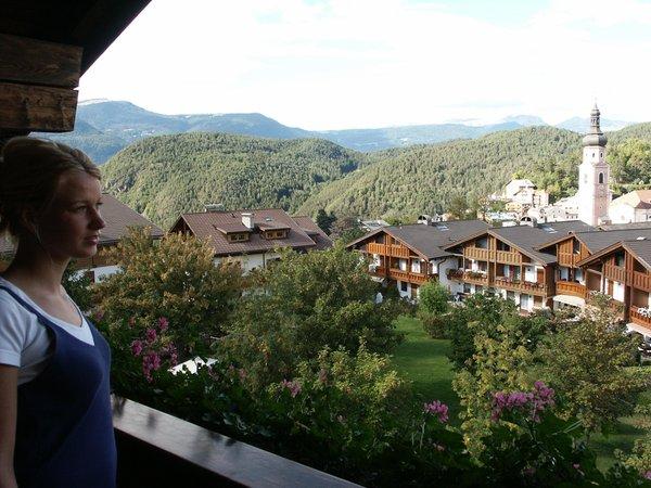 Photo of the balcony Castel Oswald von Wolkenstein