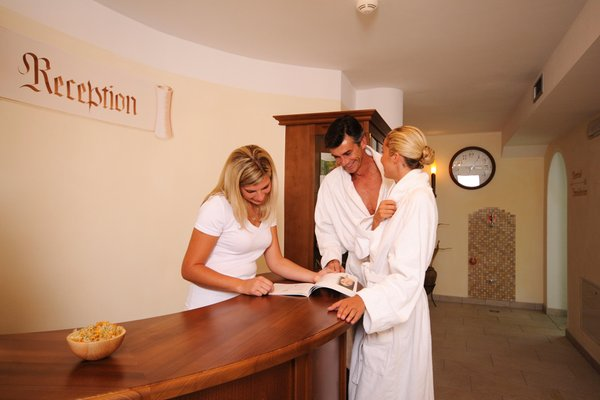 Photo of the wellness area Hotel Castel Oswald von Wolkenstein