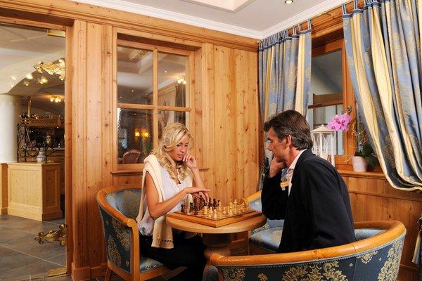 The common areas Hotel Castel Oswald von Wolkenstein