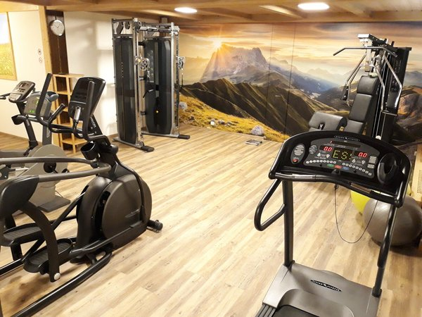 Photo of the fitness area Hotel Castel Oswald von Wolkenstein