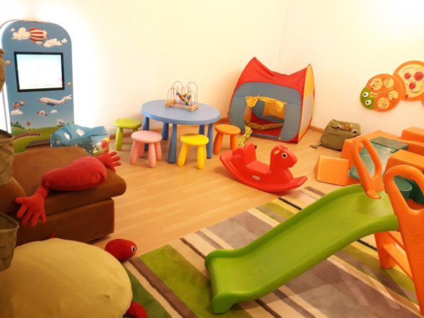 The children's play room Hotel Castel Oswald von Wolkenstein