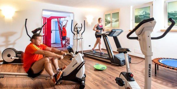 Foto della zona fitness Hotel Alpenroyal