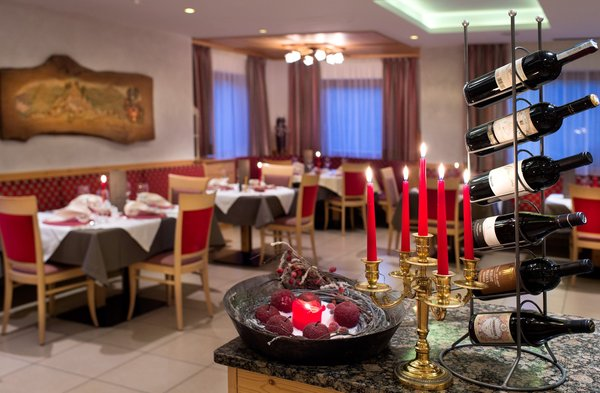 Il ristorante Castelrotto Alpenroyal