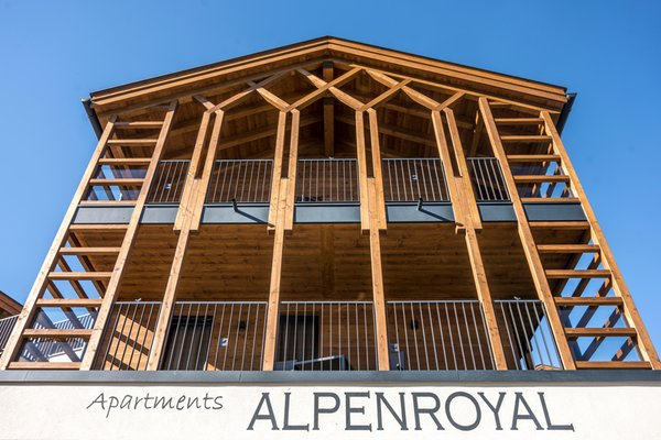 Photo exteriors in summer Hotel Apartments Alpenroyal