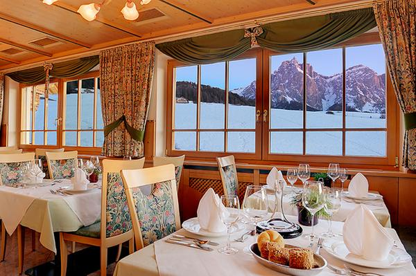 Il ristorante Castelrotto Parc Hotel Tyrol