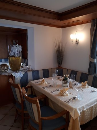 The restaurant Castelrotto / Kastelruth Cristallo