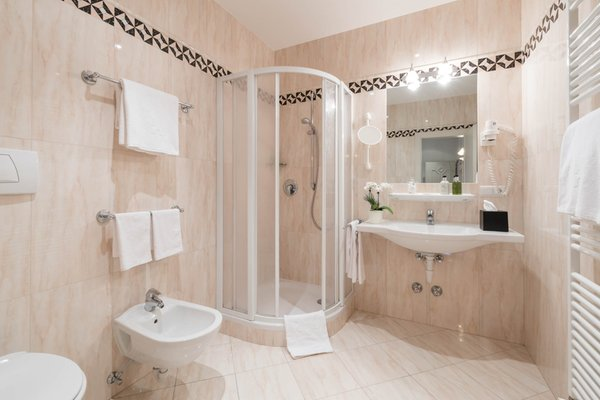 Foto del bagno Hotel Villa Kastelruth