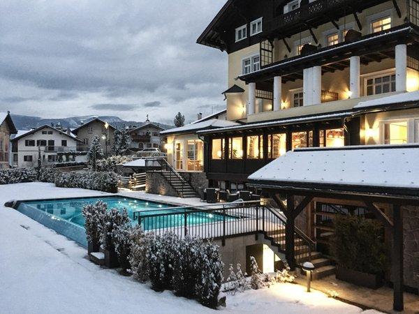 Foto esterno in inverno Villa Kastelruth