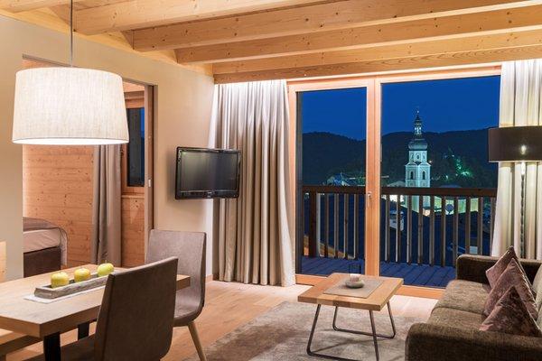 La zona giorno Hotel Madonna