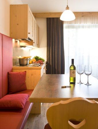 La zona giorno Martina Breakfast Lodge - Garni (B&B) 3 stelle