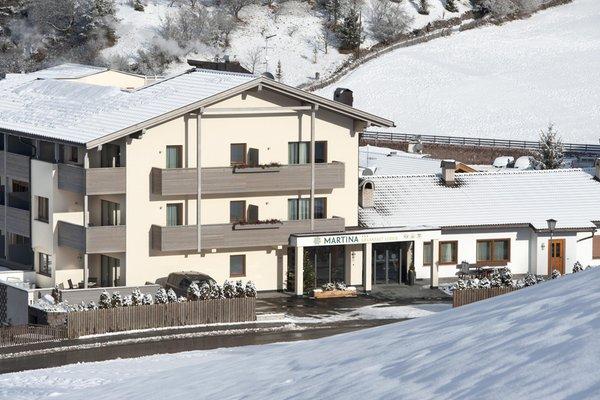 Foto invernale di presentazione Martina Breakfast Lodge - Garni (B&B) 3 stelle