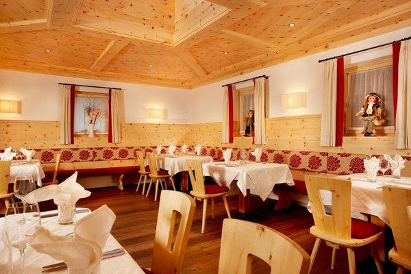 Il ristorante Castelrotto Pinei Nature & Spirit