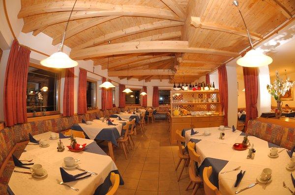 Il ristorante Castelrotto Viktoria