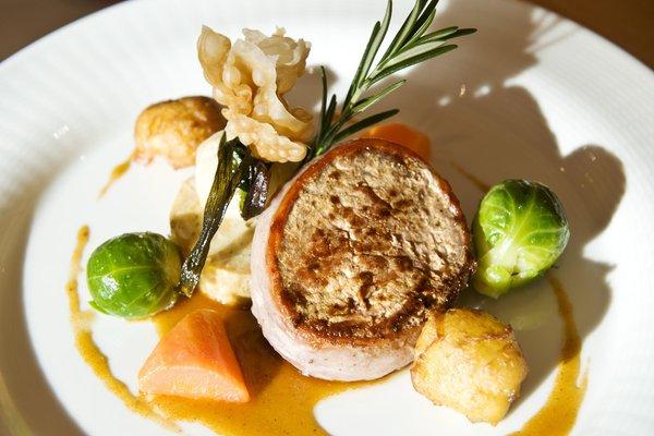 Ricette e proposte gourmet Chalet Tianes