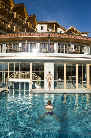Swimming pool Chalet Tianes - Hotel 4 stars sup.