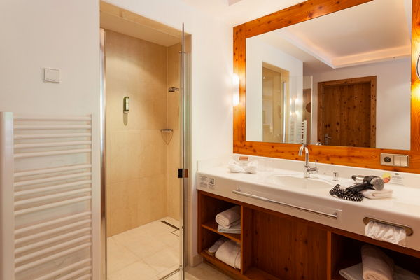 Photo of the bathroom Hotel Chalet Tianes