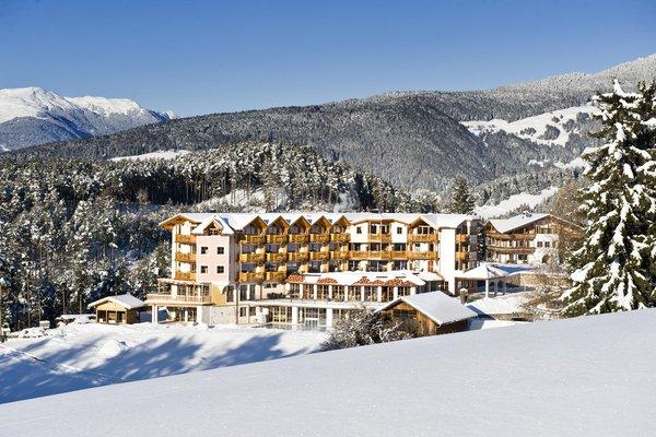 Foto invernale di presentazione Chalet Tianes - Hotel 4 stelle sup.