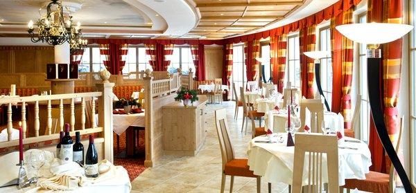 Il ristorante Castelrotto Chalet Tianes