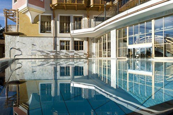La piscina Chalet Tianes - Hotel 4 stelle sup.