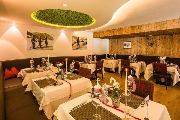Il ristorante Castelrotto Villa Gabriela