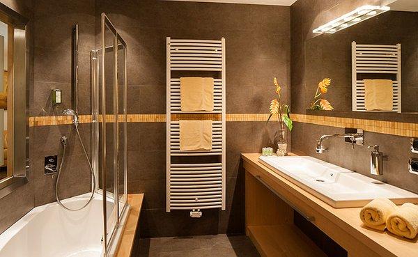 Foto del bagno Hotel Villa Gabriela