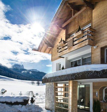 Foto esterno in inverno Villa Gabriela