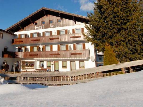 Winter Präsentationsbild Savoy - Garni-Hotel 3 Sterne