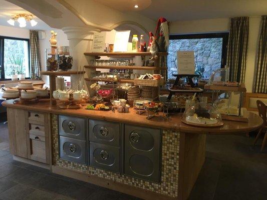 La colazione Garni + Residence Trocker