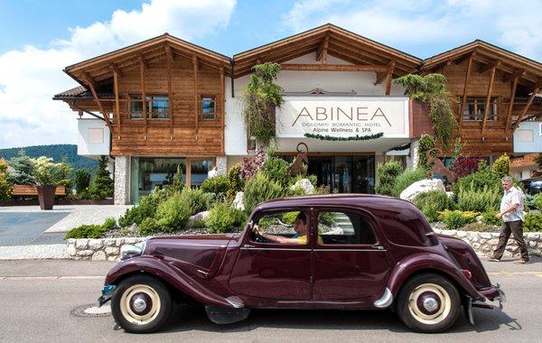 Sommer Präsentationsbild ABINEA Dolomiti Romantic SPA Hotel - Hotel 4 Sterne