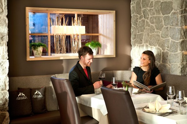 The restaurant Castelrotto / Kastelruth ABINEA Dolomiti Romantic SPA Hotel