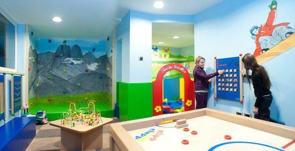 The children's play room ABINEA Dolomiti Romantic SPA Hotel