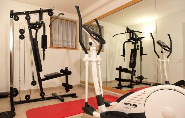 Foto della zona fitness Residence Montana