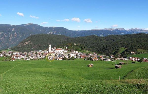 La posizione Residence Montana Castelrotto