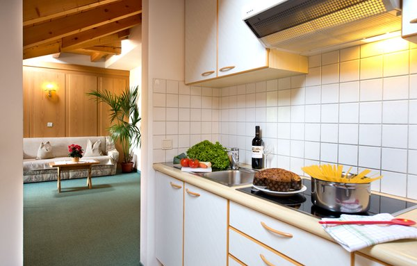 Foto della cucina Montana