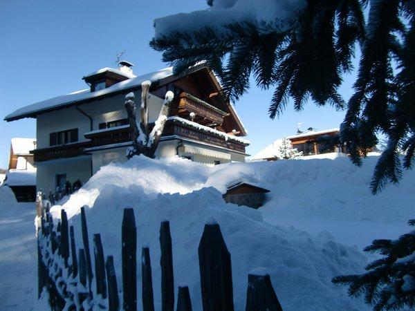 Foto invernale di presentazione Appartamenti Linde
