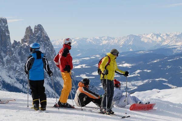 Winter activities Alpe di Siusi - Seiser Alm