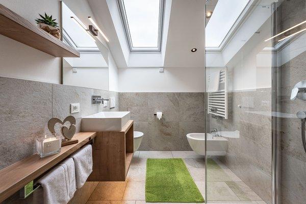 Foto del bagno Appartamenti Pötzes