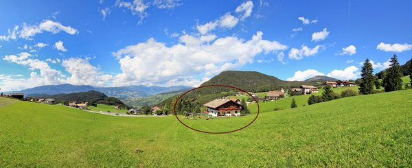 La posizione Appartamenti Pötzes Castelrotto