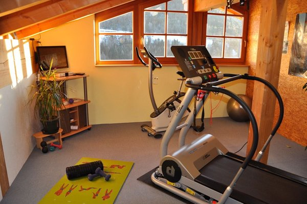 Foto della zona fitness Appartamenti Casa Hinteregger