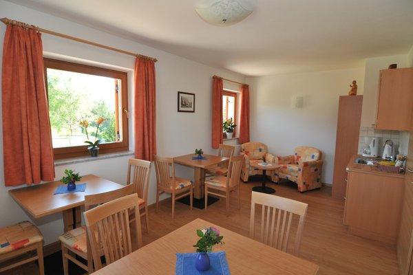 Die Gemeinschaftsräume Garni (B&B) Haus Sabina