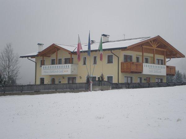 Photo exteriors in winter Haus Sabina