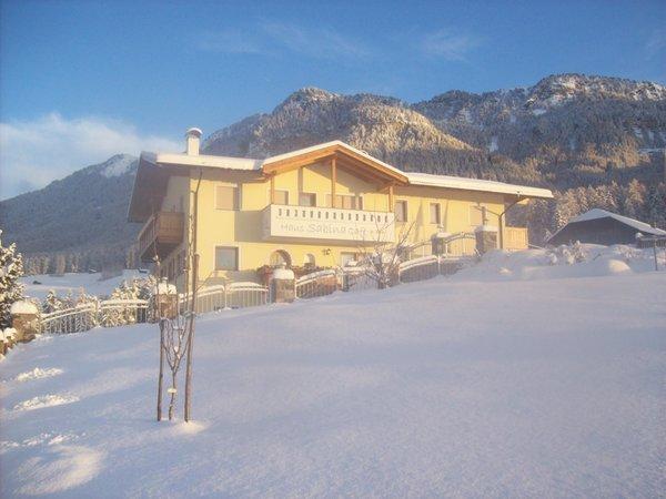 Foto Außenansicht im Winter Haus Sabina