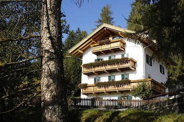 Foto esterno in estate Haus Waldrand