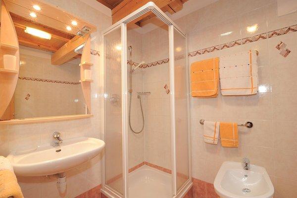 Foto del bagno Appartamenti in agriturismo Feger